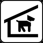 hondenhok met hok