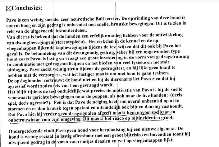 Risico assessment Pawel