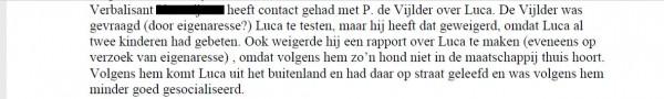 Risico assessment Universiteit Utrecht